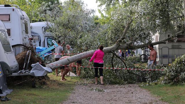 Tientallen gewonden door noodweer Noord-Italië