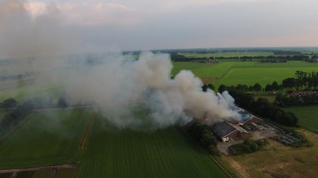 Twee schuren in Geesteren vernield door brand