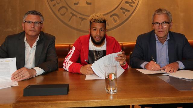 Vilhena verlengt contract bij Feyenoord tot medio 2020