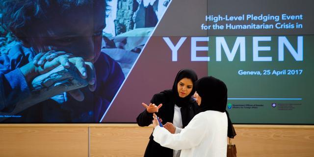 VN verzamelt ruim 1 miljard euro voor noodhulp Jemen