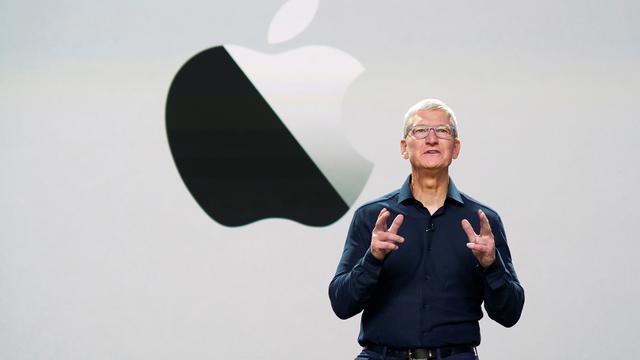 Apple gaat kort door magische grens van 2 biljoen dollar