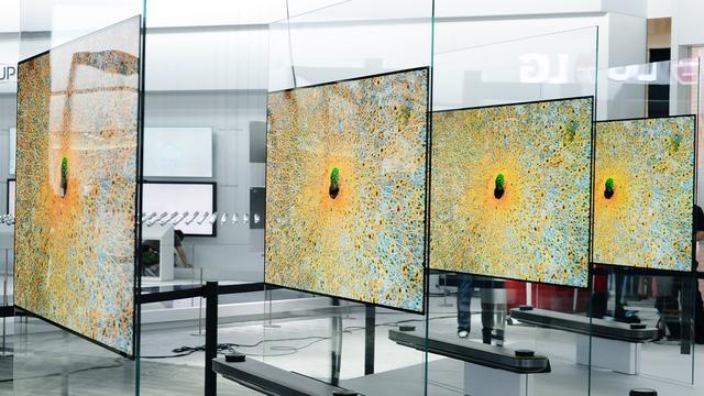 LG presenteert dunste televisie ooit