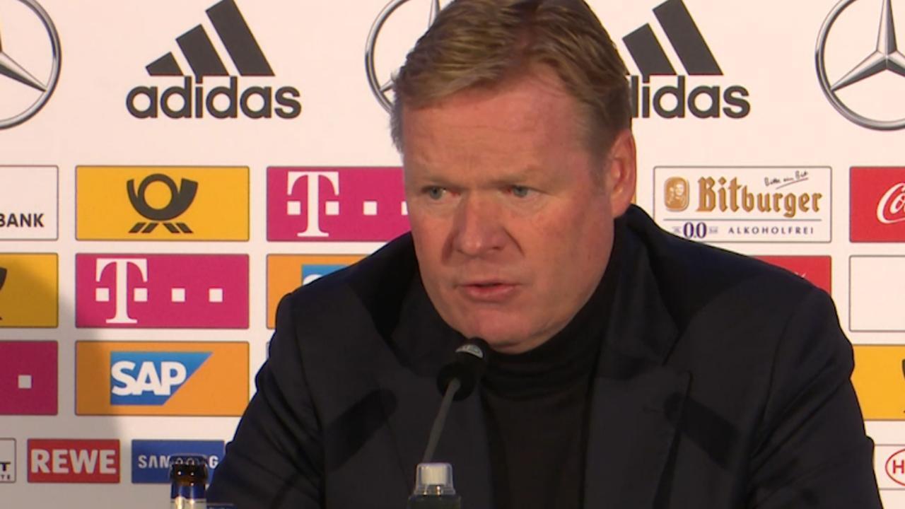 Koeman: 'We toonden tegen Duitsland echt karakter'