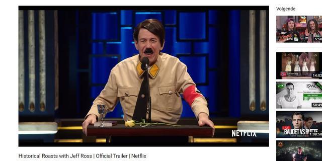 Netflix introduceert roast met Anne Frank en Adolf Hitler