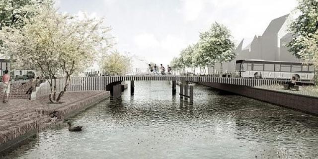 Bouw Kattenbrug Groningen start in maart