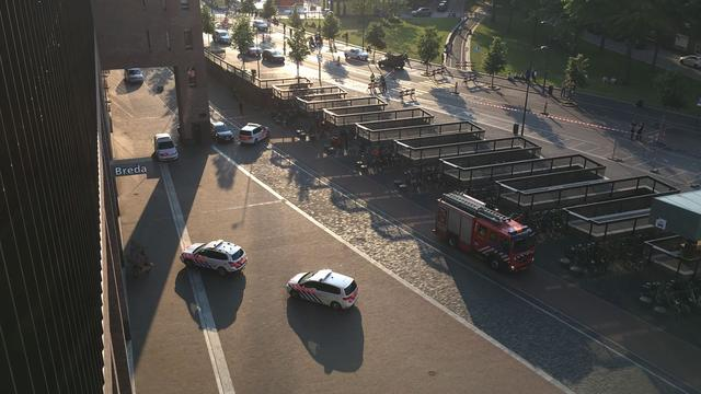 Station Breda enige tijd ontruimd wegens bommelding