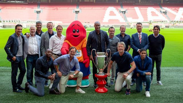 Ajacieden die in 1995 Champions League wonnen bijeen voor reünie