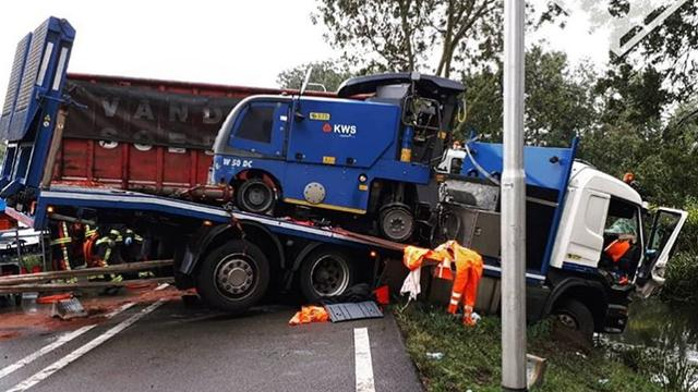 N207 dicht na zwaar ongeval bij Boskoop