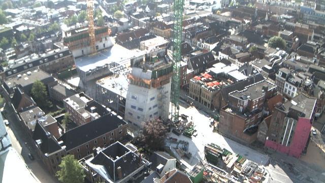 Open dag bouwterrein Groningen Forum