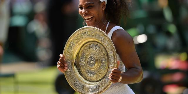 Serena Williams kan vierde Grand Slam-titel op rij 'amper geloven'