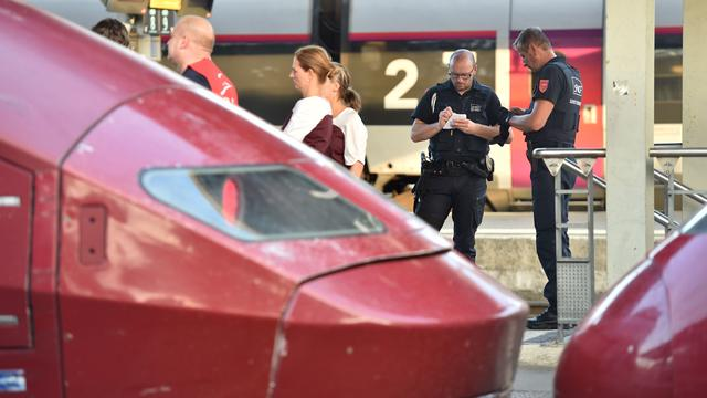 Arrestaties na opsluiting in toilet Thalys