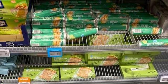 Gebrek aan containers zorgt voor tekort aan onder meer boterhamzakjes