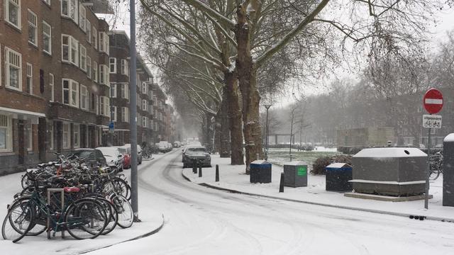 Rustig op de weg, sneeuw gevallen in Zuid-Holland, Brabant en Utrecht