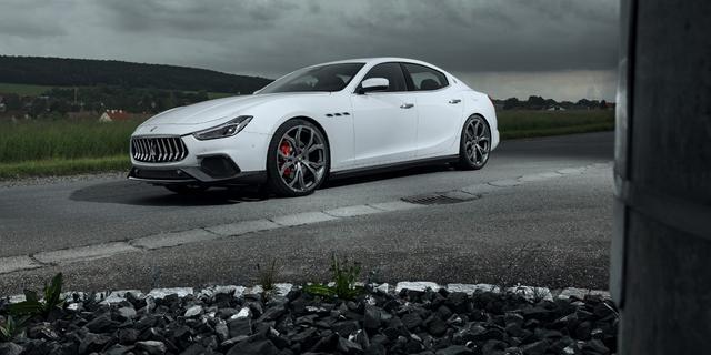 Novitec neemt Maserati Ghibli onder handen