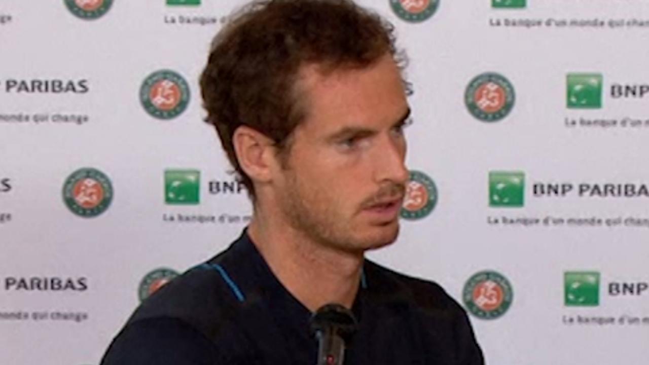 Murray: 'Als er iets gebeurt, moet dat voor aanvang van het toernooi'