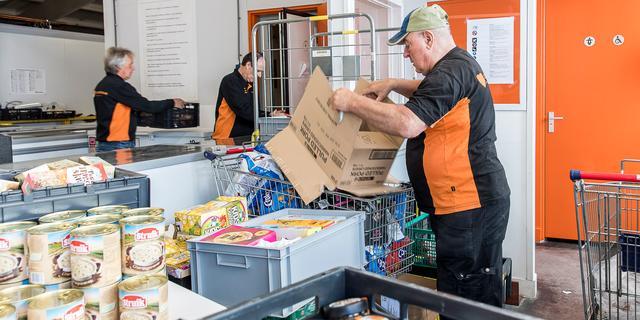 In 2020 klopten meer huishoudens aan bij de voedselbank