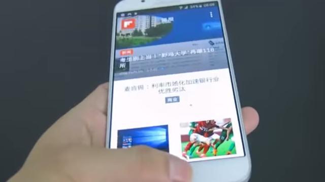 Ontwerp en specificaties Galaxy A8 te zien in video