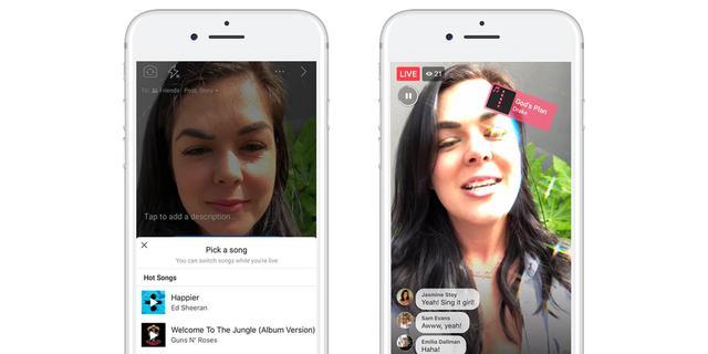 Facebook maakt playbackfunctie beschikbaar in live video's