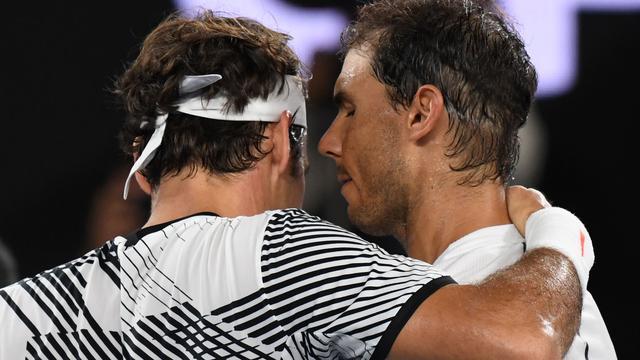 Nadal en Federer speelden al 38 keer tegen elkaar. Nadal was 23 keer de betere.