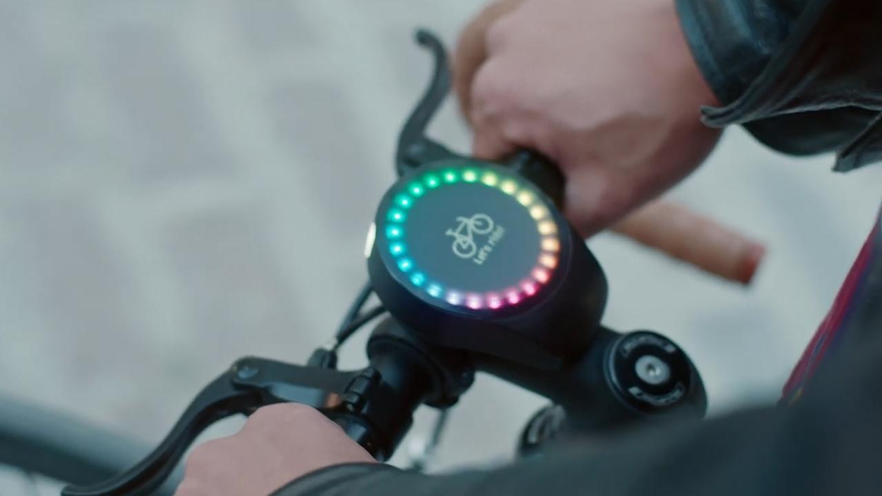 Slimme fietslamp werkt net als smartwatch