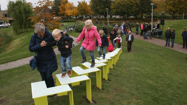 Kunstwerk Taluton in Elisabethpark is niet onveilig