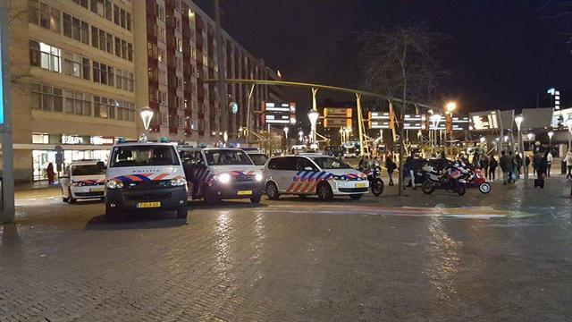 Station Leiden Centraal ontruimd in verband met verdachte situatie