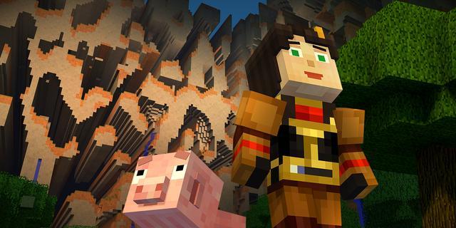 Netflix-serie over Minecraft laat kijkers eigen keuzes in verhaal maken