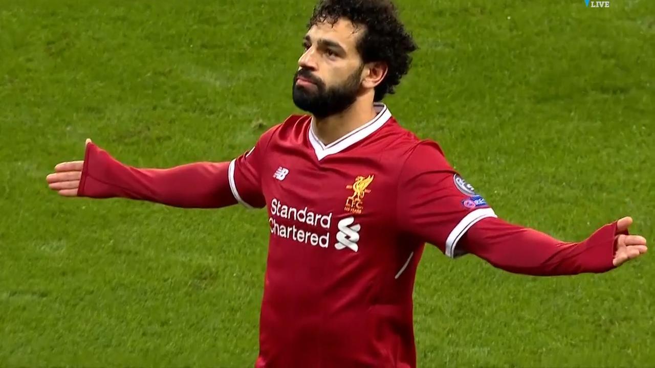 Salah schiet Liverpool op gelijke hoogte met City