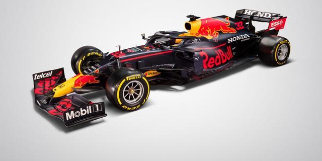 Dit is de nieuwe Formule 1-auto van Verstappen