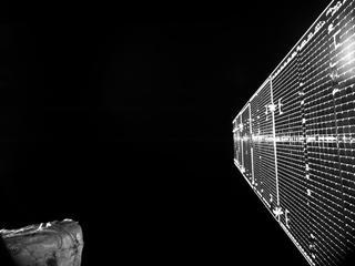 Het is de eerste 'spaceselfie' van de Europese missie