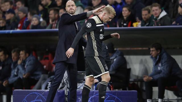 Ten Hag: 'We hadden kunnen en moeten winnen bij Bayern'
