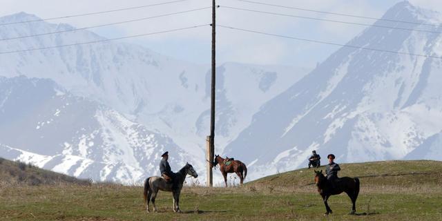 Zeker 24 doden na aardverschuiving in Kirgizië