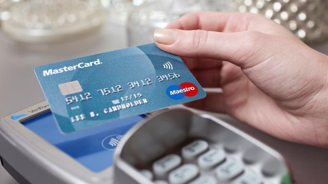 Meer betalingen gedaan met passen Mastercard