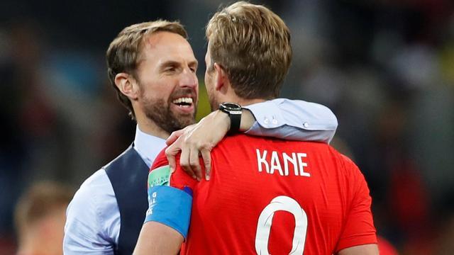 Southgate en Kane dolblij dat penaltytrauma Engeland ten einde is