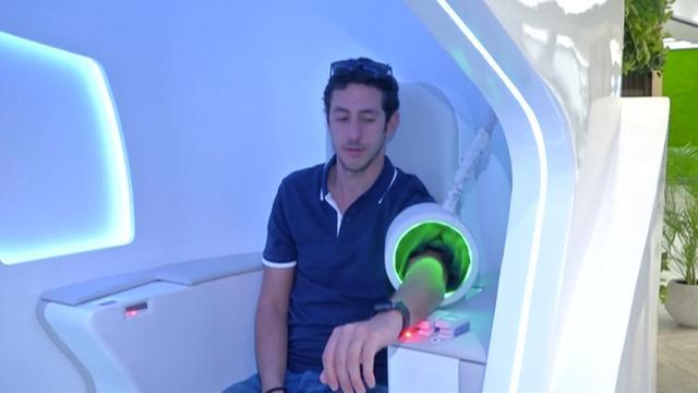 Dubai ontwikkelt zelfstandige gezondheidsscanner voor winkelcentra