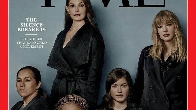 Personen achter #metoo-onthullingen Time Person of the Year
