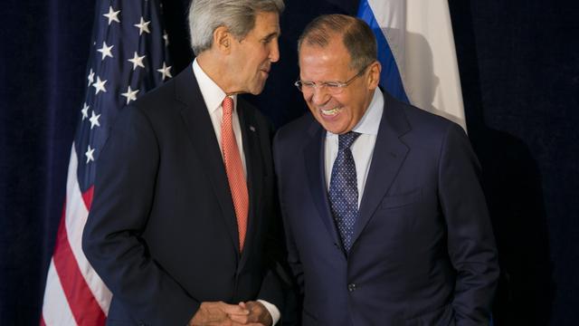 Kerry en Lavrov willen snel gezamenlijke lijst met terreurgroepen