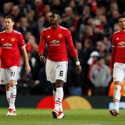 Mourinho verwijt United-spelers niets na pijnlijke uitschakeling