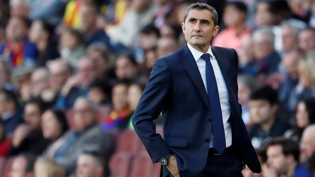 FC Barcelona ontslaat coach Valverde en stelt Setién aan als opvolger