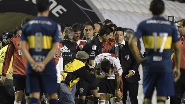 Boca Juniors uit Copa Libertadores gezet na 'pepperspray-incident'