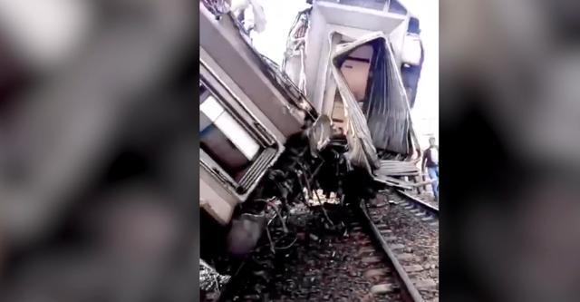 Eerste beelden groot treinongeluk Marokko