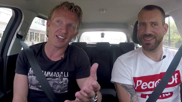 In de auto met Dirk Kuijt: 'Mijn gezin heeft geleden voor kampioenschap'