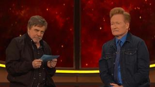 Star Wars-acteur Mark Hamill test Comic Con-kennis van Conan