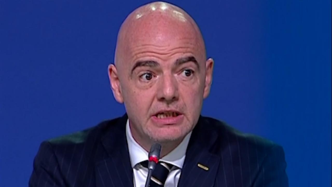 FIFA-voorzitter Infantino maakt organisator WK 2026 bekend