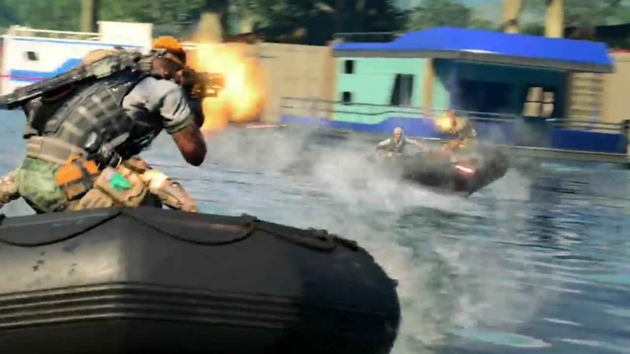 Explosieve gevechten op land, zee en in de lucht in trailer Call of Duty
