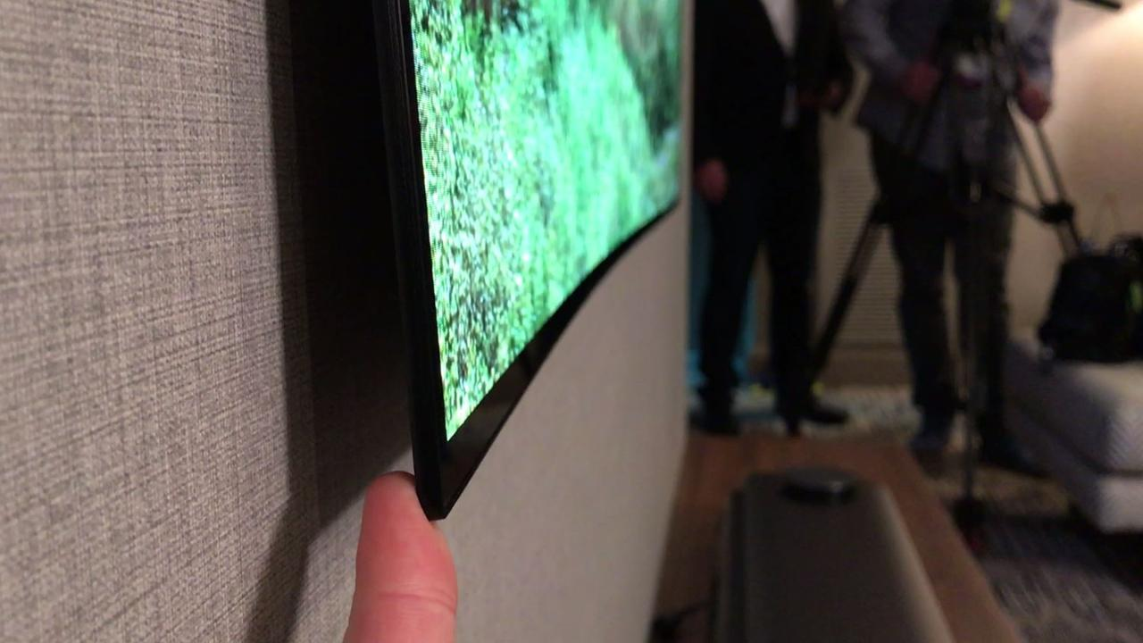 Tv In Muur : Led verlichting achter tv inspiratie door ledstripkoning