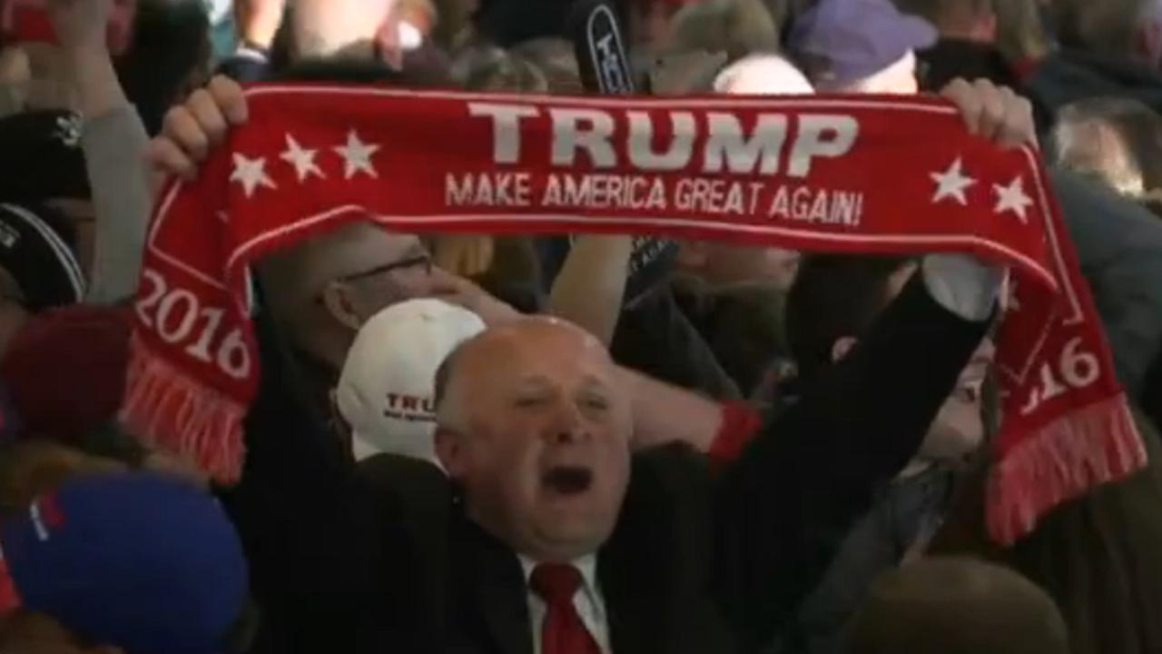 Trump wint voorverkiezingen in New Hampshire
