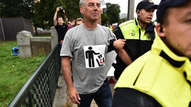 Pegida-voorman Edwin Wagensveld weer aangehouden in Den Haag