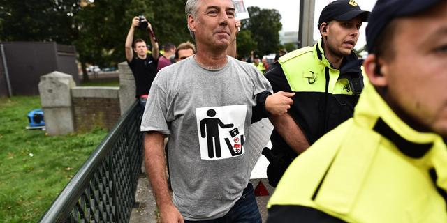 Pegida-voorman mocht hakenkruis tonen tijdens demonstratie