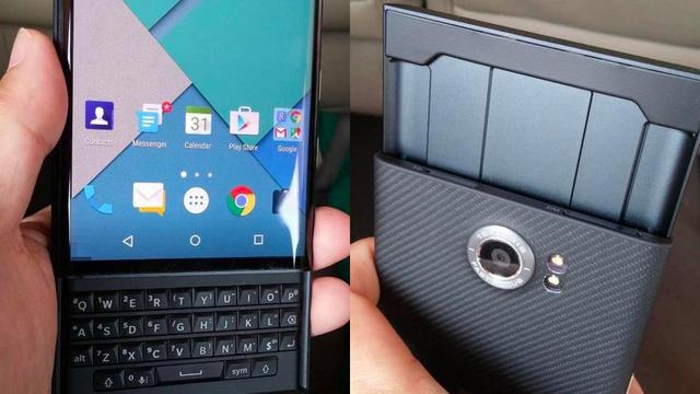'Schuiftelefoon Blackberry heet Priv'